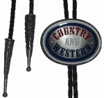 Country and Western Bolo Tie. Code BTWW33E